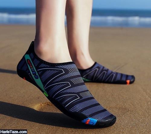 نکات استفاده از کفش ساحلی