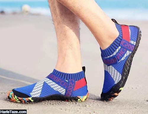 مدل کفش ساحلی جدید