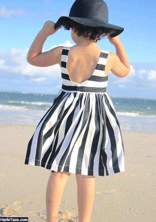 مدل لباس ساحلی بچگانه 99