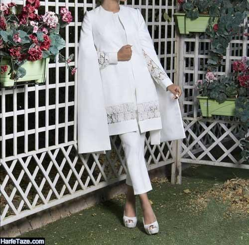 مدل مانتو جلو باز زنانه برای روز نامزدی