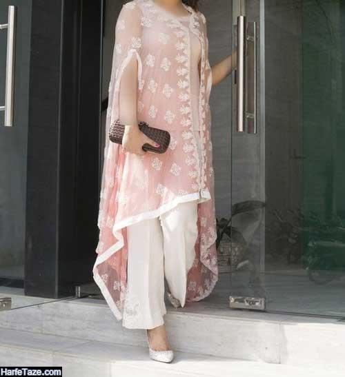 مانتوی سفید کیمونوی خوشگل برای محضر