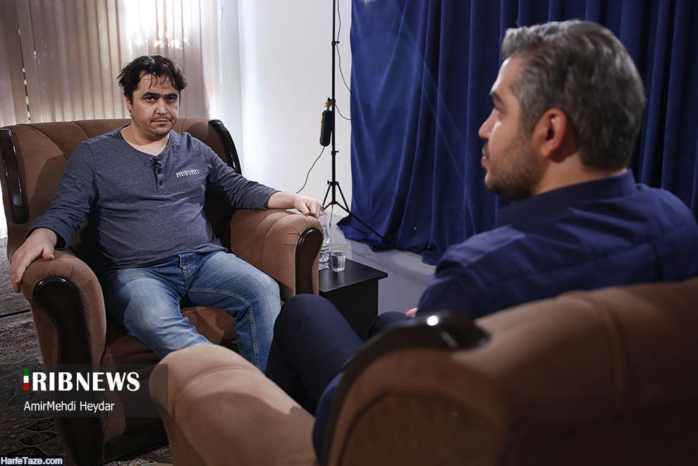 گفتگوی متنی مدیر آمدنیوز با علی رضوانی در بدون تعارف شبکه دو