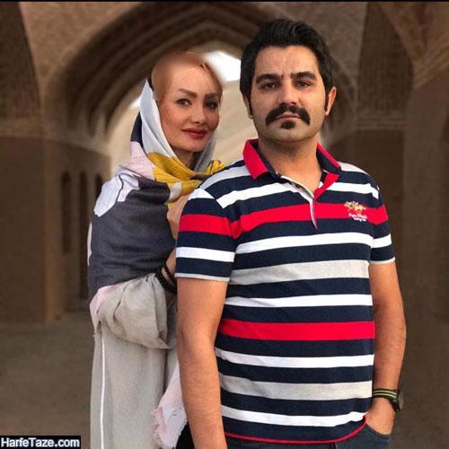 عکس های جدید نصرت میرعظیمی و همسرش مریم فهیمی