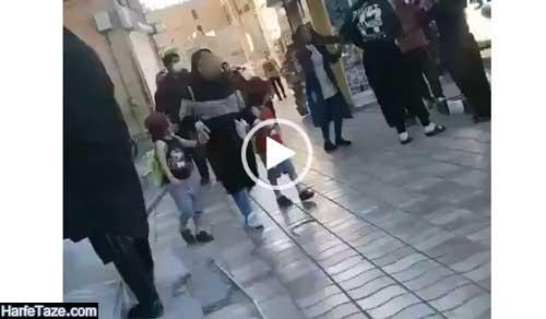 فیلم و کلیپ رقص دختر ایلامی در خیابان سعدی ایلام