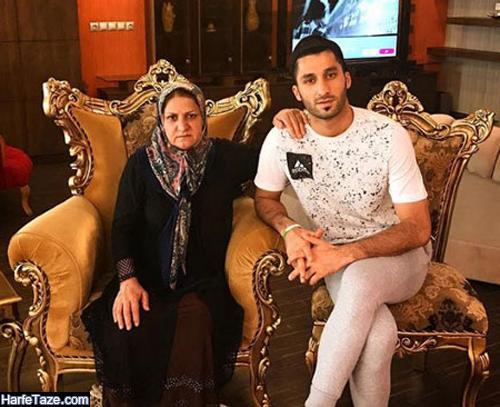 عکس های خانواده و مادر رشید مظاهری