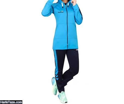 مدل ستهای شیک دخترانه از سوئیشرت با شلوار برای ورزش کردن