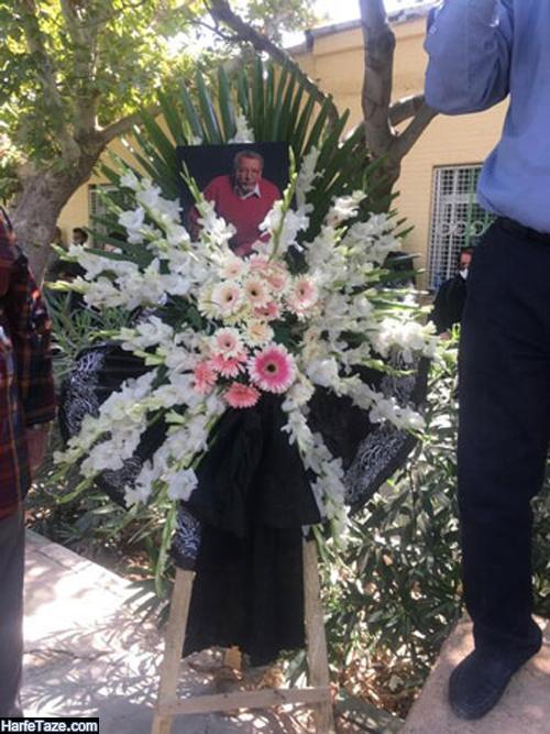 عکسهای خاکسپاری بهمن مفیثد در قطعه هنرمندان بهشت زهرا