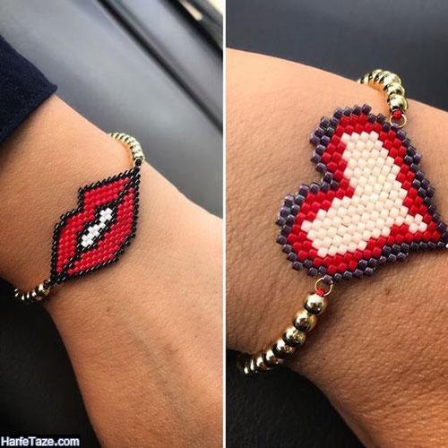 جدیدترین مدل های دستبند دوستی دخترانه و پسرانه 1400 با طرح های شیک