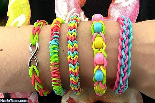 مدل جدید از انواع طرح و رنگ دستبند دوستی