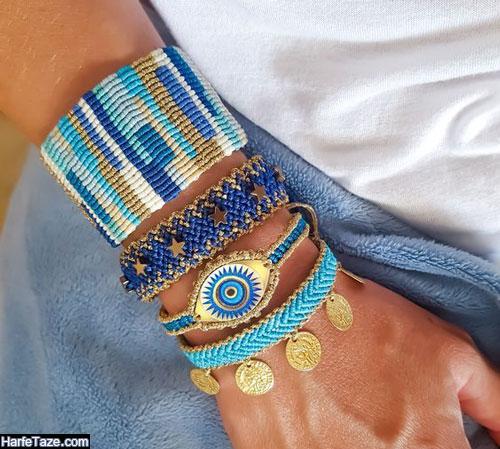 مدل دستبندهای طرح گل