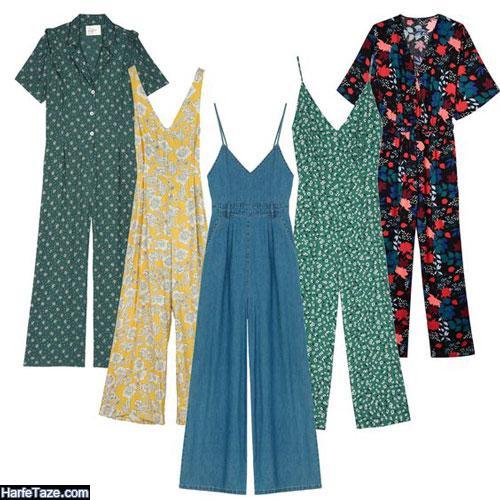 ژورنال لباس سرهمی زنانه