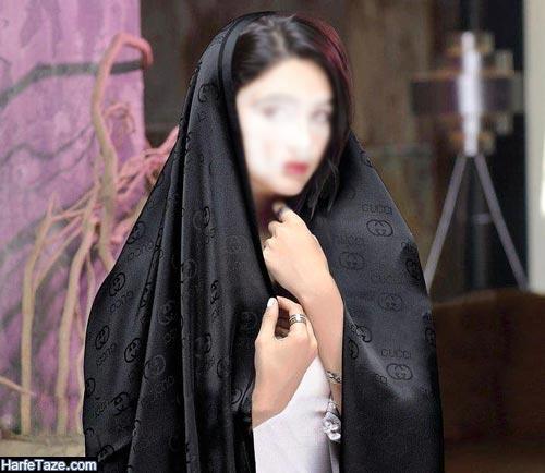 مدل شال مشکی زنانه 99