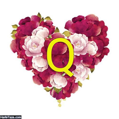 عکس با حروف انگلیسی QA