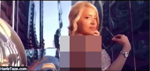 عکسهای بی حجاب و منشوری بازیگر نقش الناز در سریال همگناه