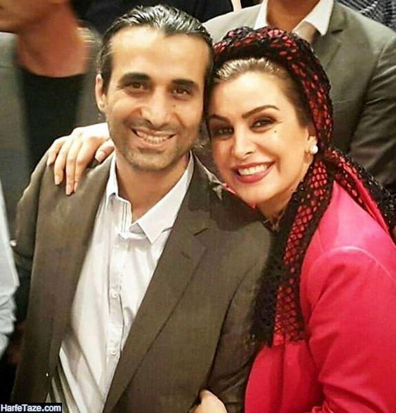 پیج اینستاگرام ابراهیم اشرفی همسر ماه چهره خلیلی