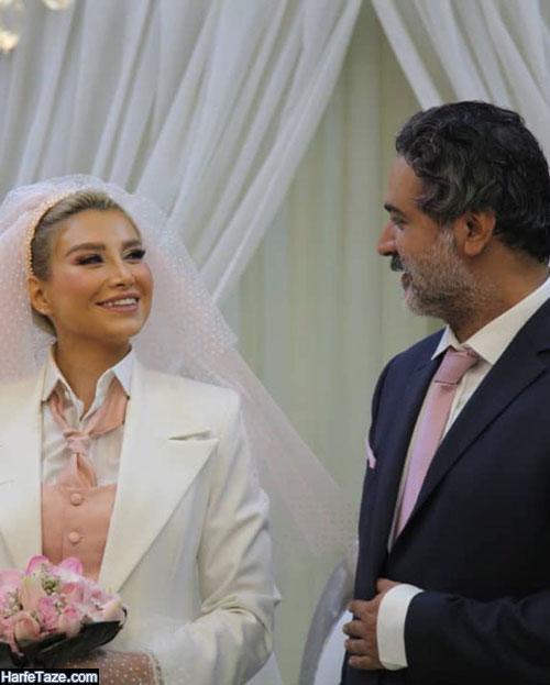 ازدواج عمار تفتی بازیگر و عکس های مراسم ازدواج و بیوگرافی همسر عمار تفتی