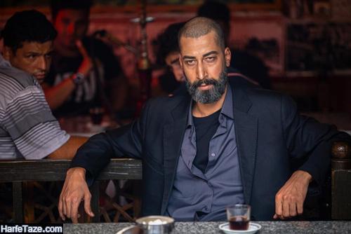 گریم بهرام افشاری در فیلم