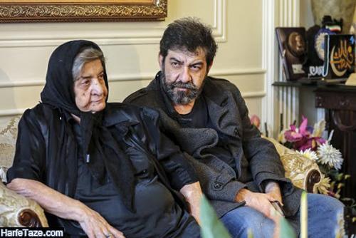 عکس جدید همسر و فرزندان استاد مشایخی