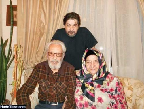 زندگینامه گیتی افروز رئوفی همسر جمشید مشایخی