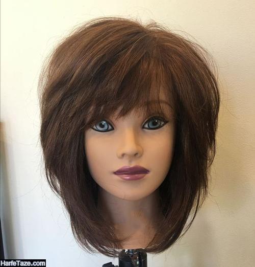 مدل کوتاهی مو دخترانه فارا با طرح شیک