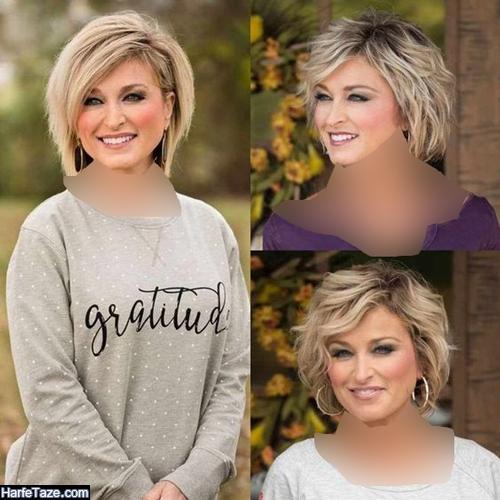 مدل کوتاهی مو دخترانه شیک