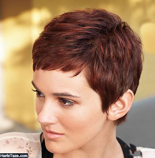 مدل کوتاهی موی دخترانه کوپ و کوتاه 2021