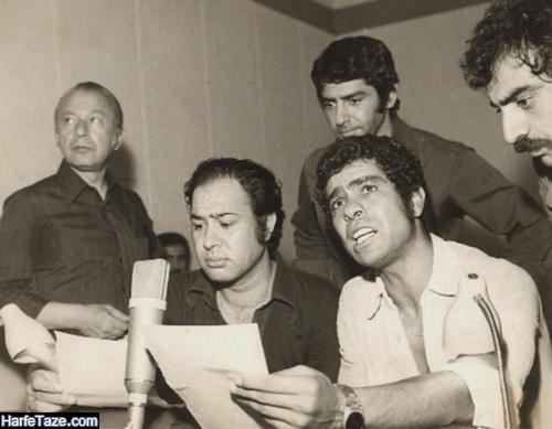 عکس های جوانی مرحوم حسین عرفانی دوبلور