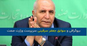 بیوگرافی و عکس های جعفر سرقینی وزارت صمت