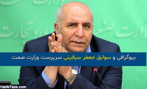 جعفر سرقینی وزارت صمت   بیوگرافی و سوابق جعفر سرقینی و همسرش با زندگینامه و عکس