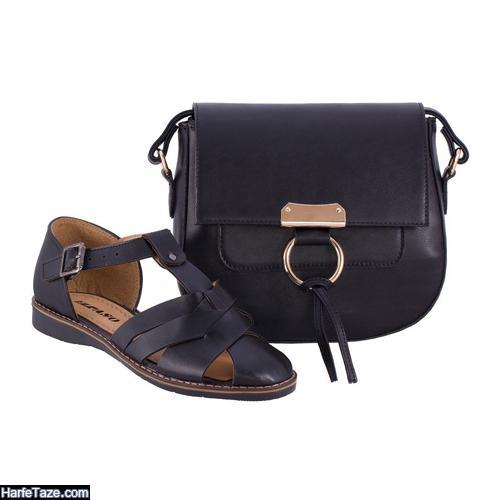 جدیدترین مدلهای کیف و کفش مشکی زنانه ست و تکی برای محرم و ختم ۰۰ + ۲۰۲۱