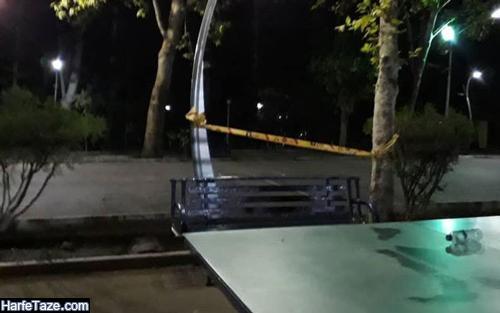فیلم حادثه برق گرفتگی پارک لاله تهران و ماجرای مرگ مهدی پسر نوجوان
