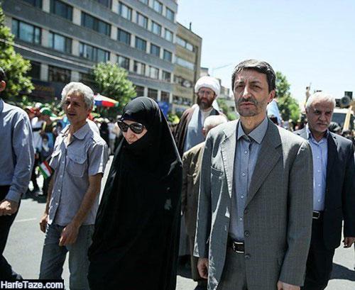 همسر پرویزفتاح رئیس بنیاد مستضعفان و رئیس سابق کمیته امداد کیست