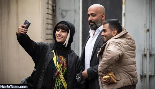 پیام احمدی نیا در فیلم گربه سیاه با کیا رکنی و ترلان پروانه