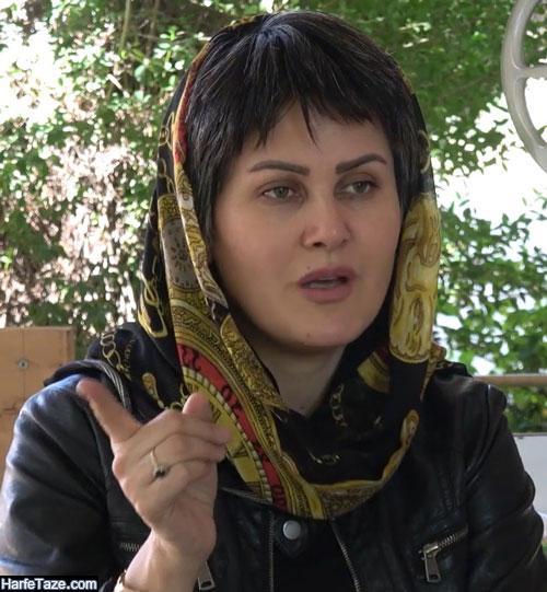 بیوگرافی صغرا کریمی بازیگر نقش معصومه در فیلم خواب سفید