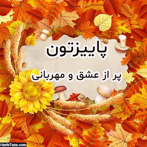 عکس پروفایل پاییزی دخترانه و پسرانه + عکس نوشته پاییزی دونفره با متن های  جدید