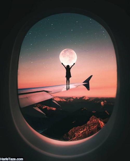 عکس پروفایل ماه برای اینستاگرام و استوری