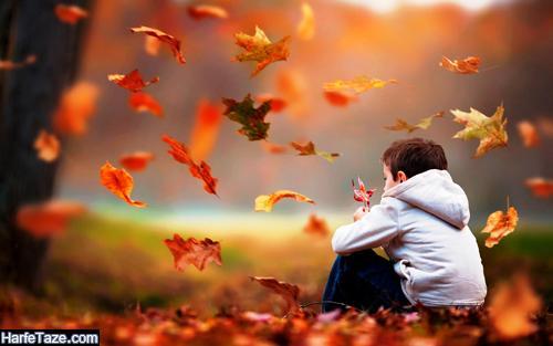 عکس بدون متن غمگین پاییزی پسرانه