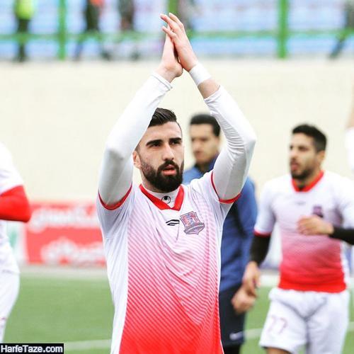 سوابق فوتبالی و باشگاهی علی شجاعی بازیکن پرسپولیس