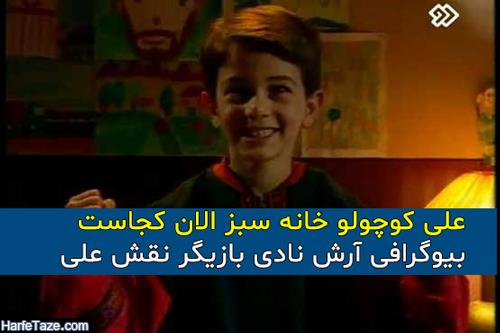 بیوگرافی و عکس های جدید آرش نادی بازیگر نقش علی در سریال خانه سبز