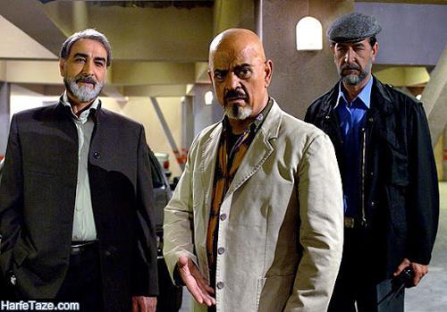 عکس های جدید بازیگر نقش عبدالله پلنگ در سریال خواب و بیدار