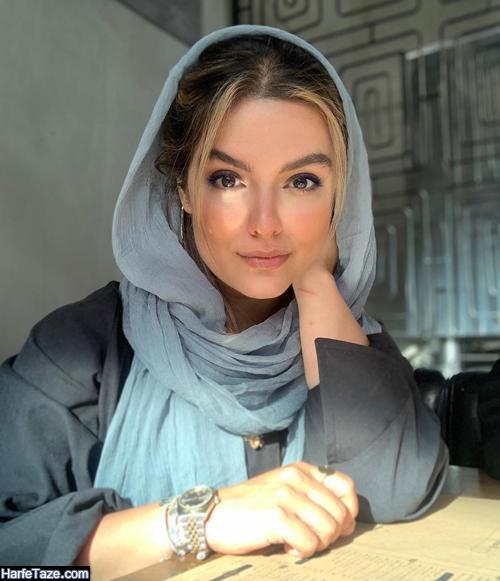 عکس و بیوگرافی دنیا مدنی بازیگر نقش معصومه در سریال زمین گرم
