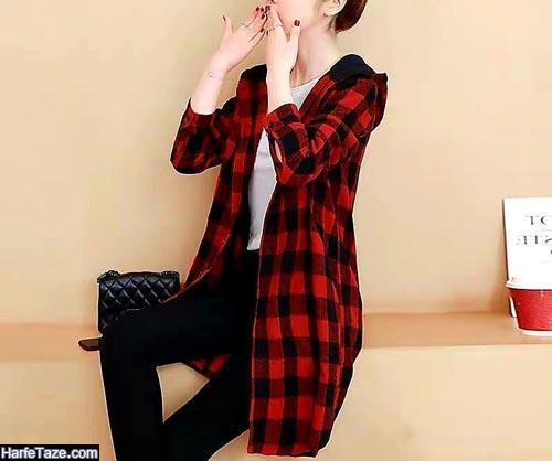 مدل هودی بلند زنانه 99