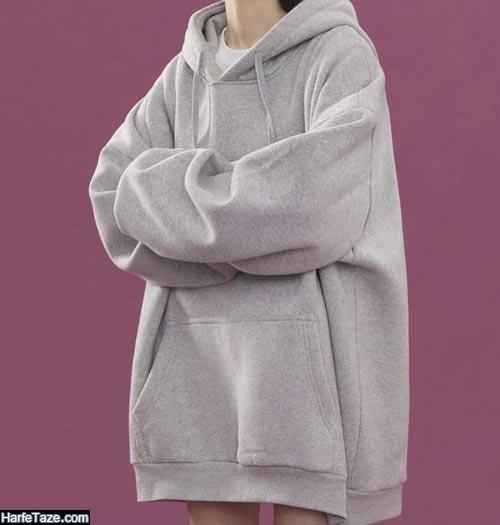 مدل هودی بلند زنانه 2021