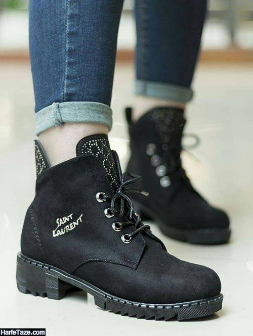 کفش پاییزی زنانه | انواع جدیدترین مدل های کفش پاییزه زنانه ویژه ۹۹