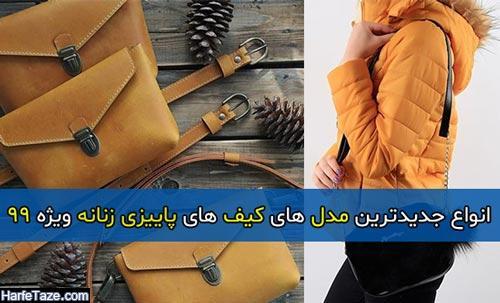 انواع جدیدترین مدل های کیف های پاییزی زنانه ویژه 99