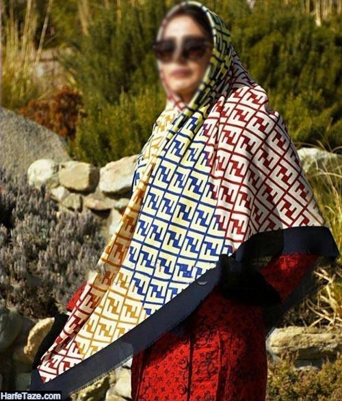 روسری پاییزه | انواع جدیدترین مدل های شیک و خاص روسری پاییزه ۹۹