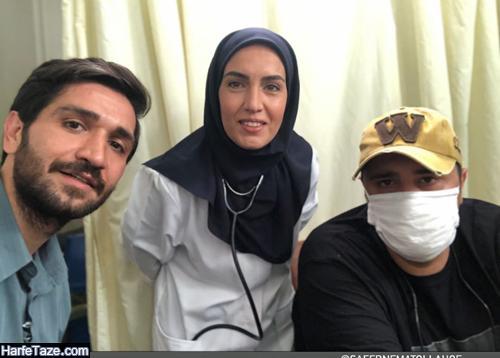 بیوگرافی و عکس های صادق برقعی بازیگر و همسرش