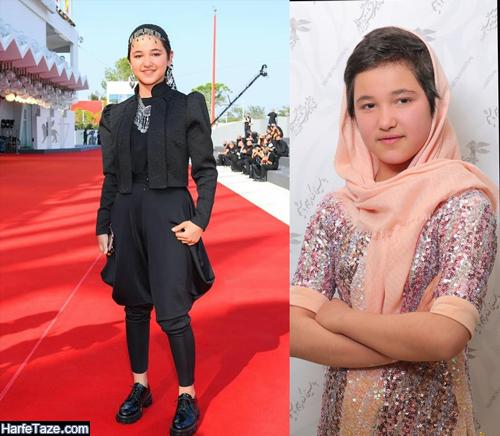شمیلا شیرزاد دختر افغانستانی فیلم خورشید کیست + عکس و بیوگرافی