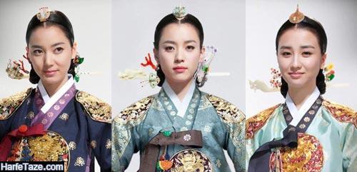 اسامی بازیگران سریال دونگ یی