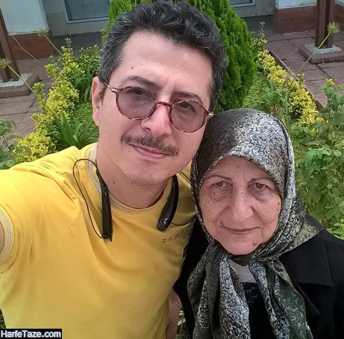 عکس مادر علیرضا فتحی پور